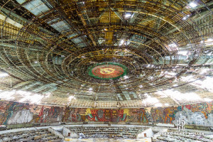Buzludzha ancien monument communiste Bulgare